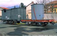 Carro chiuso e carro cisterna